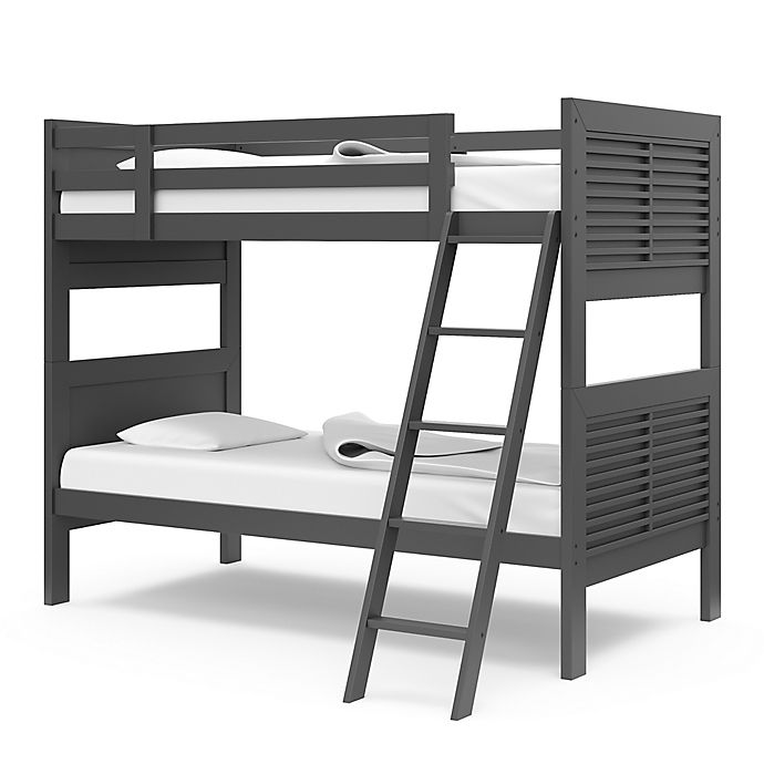 Alternate image 1 for Thomasville Kids® Milo Twin Bunk Bed in Gray