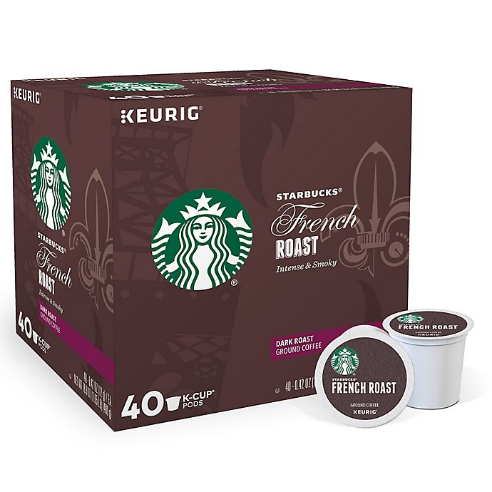 Alternate image 1 for Starbucks® French Roast Coffee Keurig® K-Cup® Pods 40-Count