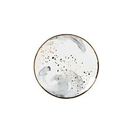 Olivia & Oliver™ Harper Splatter Gold Appetizer Plates in Grey (Set of 4)