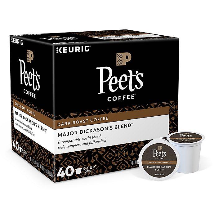 Alternate image 1 for Peet's Coffee® Major Dickason's Blend Keurig® K-Cup® Pods 40-Count
