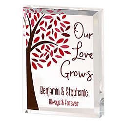 Tree Of Love Personalized Colored Keepsake