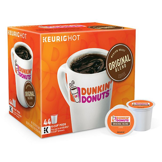 Alternate image 1 for Dunkin' Donuts® Original Blend Coffee Value Pack Keurig® K-Cup® Pods 44-Count