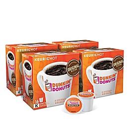Dunkin' Donuts® Original Blend Coffee Keurig® K-Cup® Pods Value Pack 64-Count