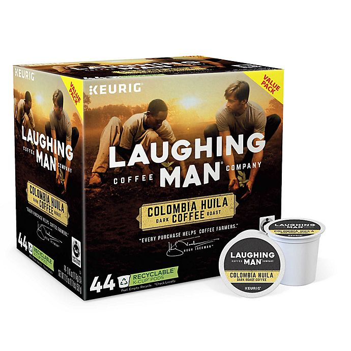 Alternate image 1 for Laughing Man® Colombia Huila Coffee Keurig® K-Cup® Pods 44 Count