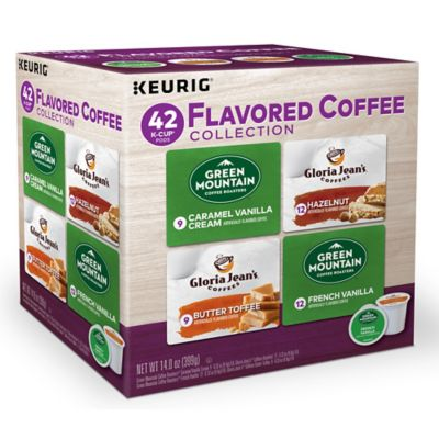 Flavored Coffee Variety Pack Keurig K-Cup Pods 42-Count