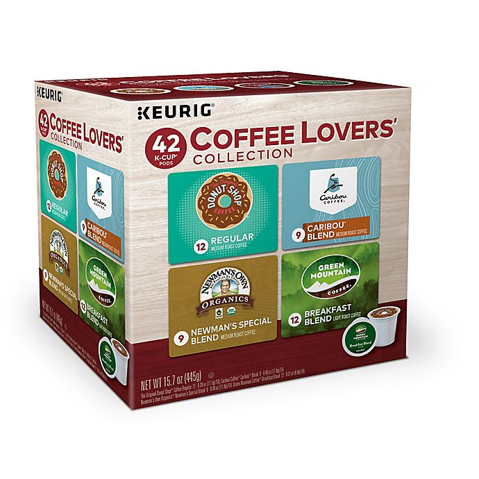 Alternate image 1 for Coffee Lovers Variety Pack Keurig® K-Cup® Pods 42-Count