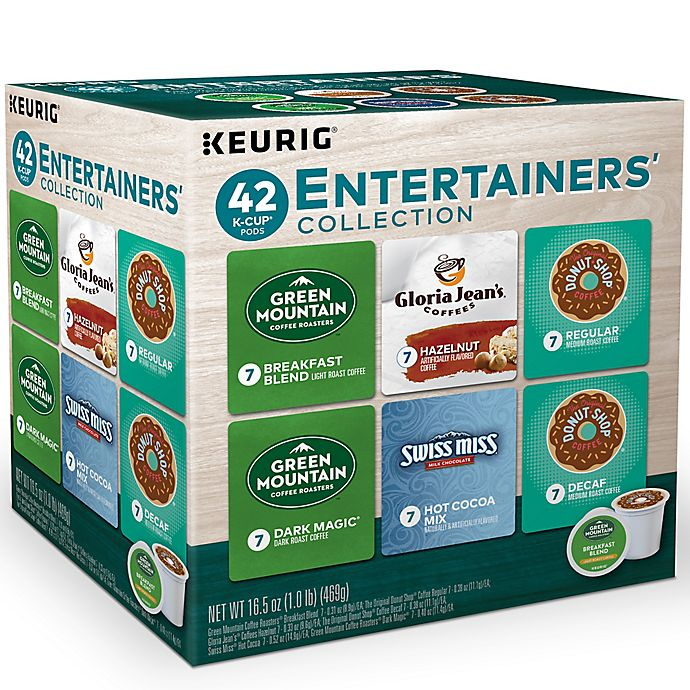 Alternate image 1 for The Entertainer Variety Pack Keurig® K-Cup® Pods 42-Count