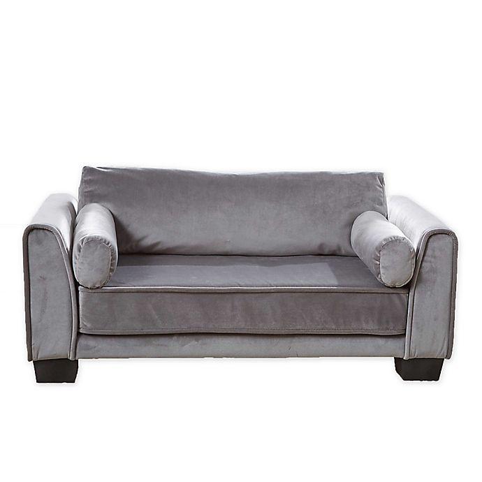 Alternate image 1 for Enchanted Home Pet® Jordan Pet Sofa in Dark Grey
