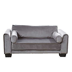 Enchanted Home Pet® Jordan Pet Sofa in Dark Grey