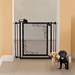 Richell® One-Touch Metal Mesh Pet Gate
