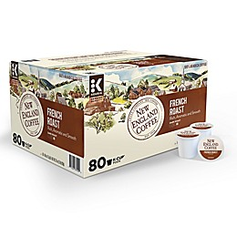 New England Coffee® French Roast Coffee Keurig® K-Cup® Pods 80-Count Value Pack