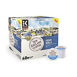 New England Coffee® French Vanilla Value Pack Keurig® K-Cup® Pods 48-Count