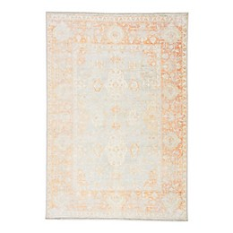 Jaipur Living Patrin Area Rug in Orange/Light Grey