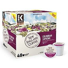 New England Coffee® Colombian Supremo Keurig® K-Cup® Pods 48-Count