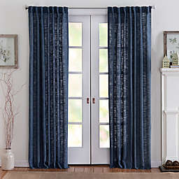 Eastwood 63-Inch Rod Pocket Window Curtain Panel in Denim
