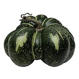 6-Inch Styrofoam Pumpkin Decoration in Green