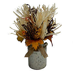 Bee & Willow™ Home 15.5-Inch Harvest Corn Husk Centerpiece Decoration