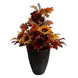 42-Inch Sunflowers Harvest Floral Decoration with Urn