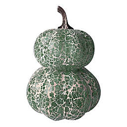 Bee & Willow™ Home 13.5-Inch Mosaic Pumpkin Decoration in Sage Green