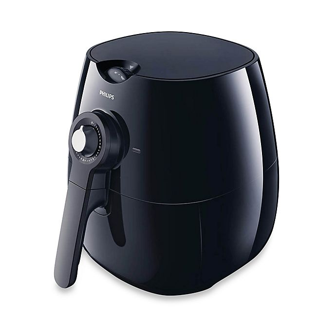 Alternate image 1 for Philips Viva Collection Air Fryer in Black
