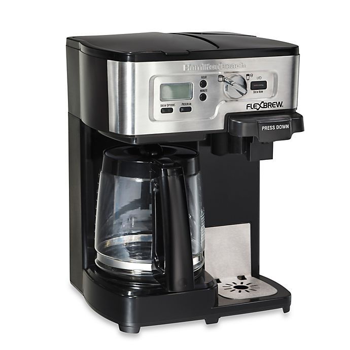 Alternate image 1 for Hamilton Beach® FlexBrew® 2-Way Coffee Maker