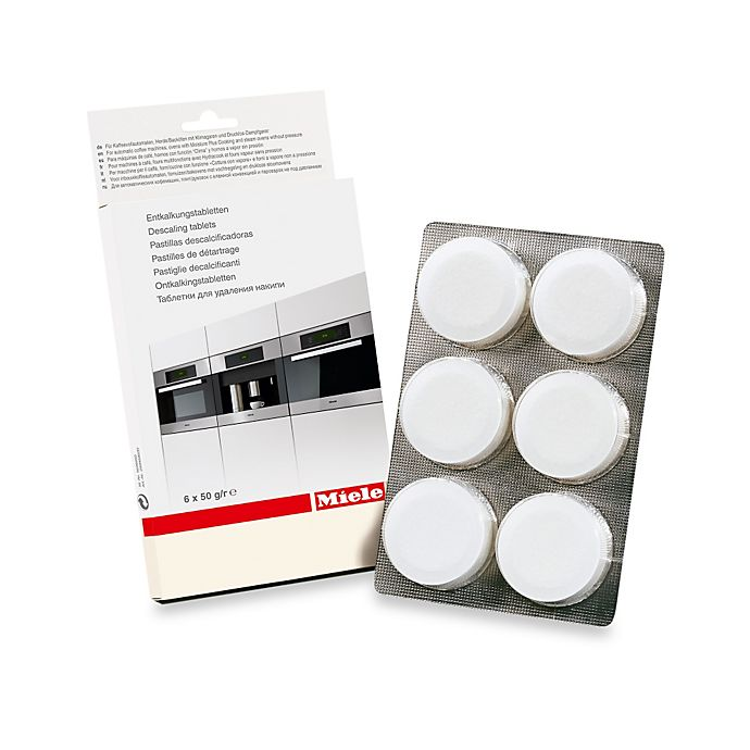Alternate image 1 for Miele 6-Pack Descaling Tablets
