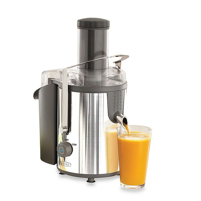 Alternate image 1 for Bella High Power Stainless Steel Juice Extractor