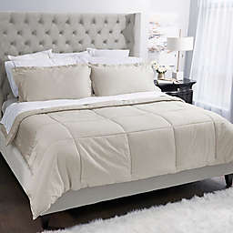 Covermade® Patented Easy Bed Making Down Alternative Full/Queen Comforter in Natural