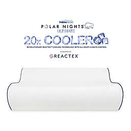 Therapedic® Polar Nights™ 20x Cooling Contour Memory Foam Pillow