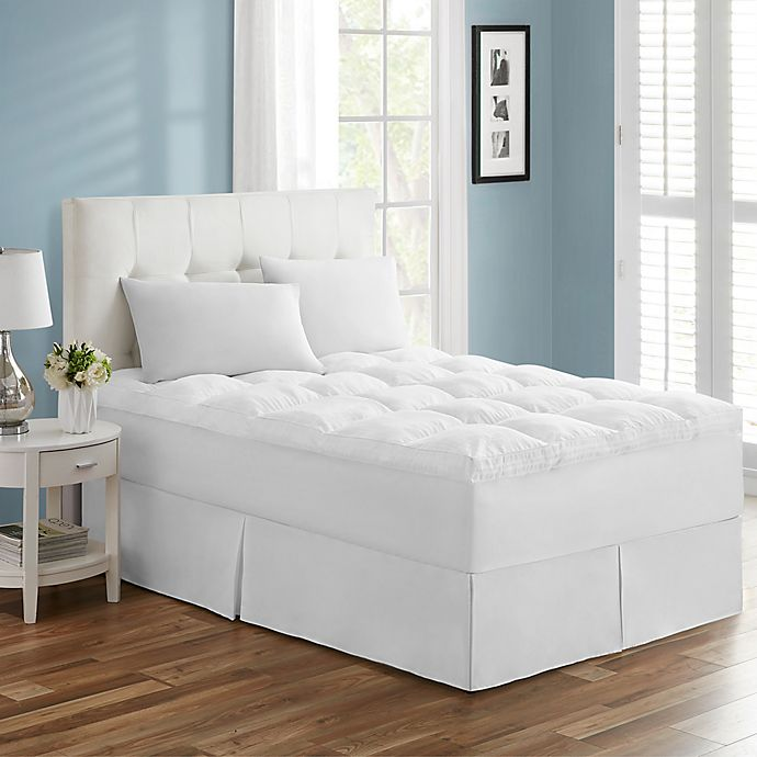 Alternate image 1 for Tahari Ultra Comfy Luxury Mattress Topper