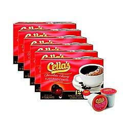 Cella's® Cherry Flavored Coffee Pods for Single Serve Coffee Makers 72-Count