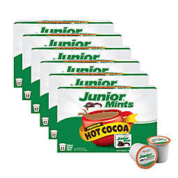 Junior Mints® Premium Hot Cocoa Pods for Single Serve Coffee Makers 72-Count