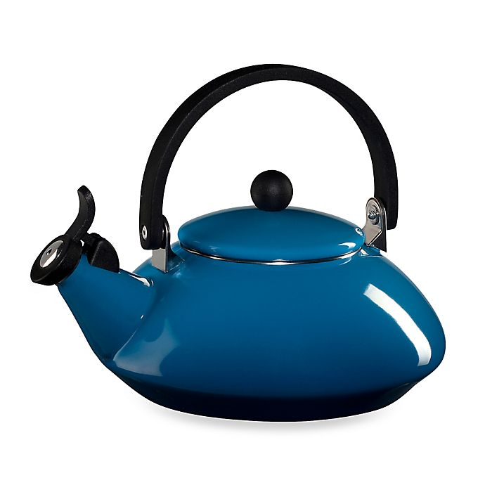 Alternate image 1 for Le Creuset® Zen 1.6 qt. Tea Kettle in Marseille