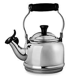 Le Creuset® Demi 1.25 qt. Whistling Tea Kettle in Stainless Steel