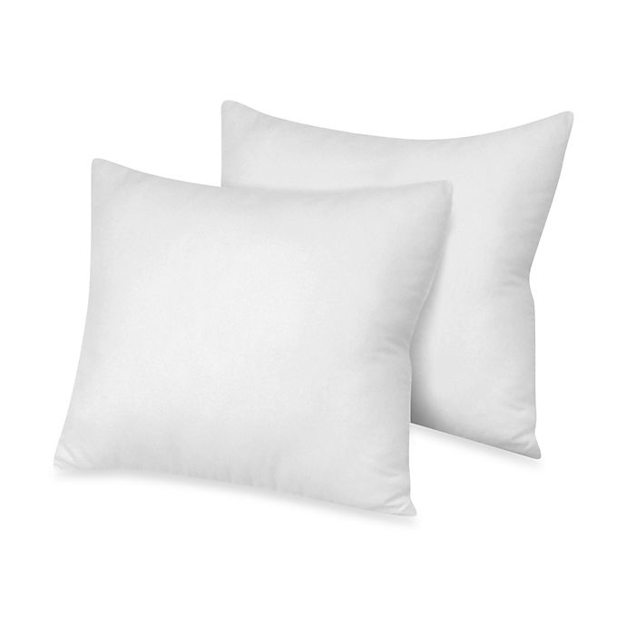 Theic Theraloft European Square Pillows For Style Shams 2 Pack