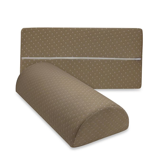 Alternate image 1 for Therapedic® Any Position Memory Foam Pillow in Taupe