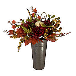 Harvest 18-Inch Floral Wall Hanging Decoration