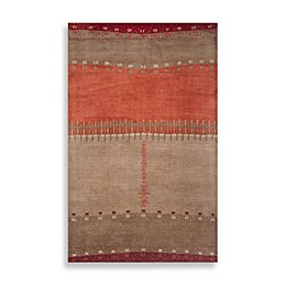 Mojave Area Rug in Beige/Red