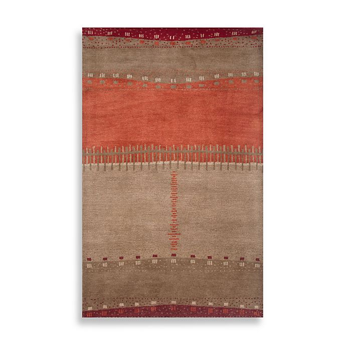 Alternate image 1 for Mojave Area Rug in Beige/Red