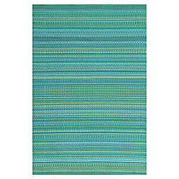 Mad Mats® Mix 5' x 8' Indoor/Outdoor Area Rug in Tropical