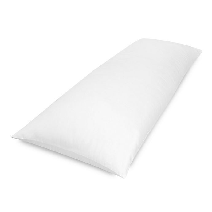 Alternate image 1 for Therapedic® TheraLOFT Body Pillow with CoolMAX® in White