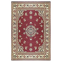 Mad Mats® Oriental Floral Flat-Weave Rug