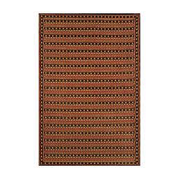 Mad Mats® Uberturk 4' x 6' Indoor/Outdoor Area Rug in Brown