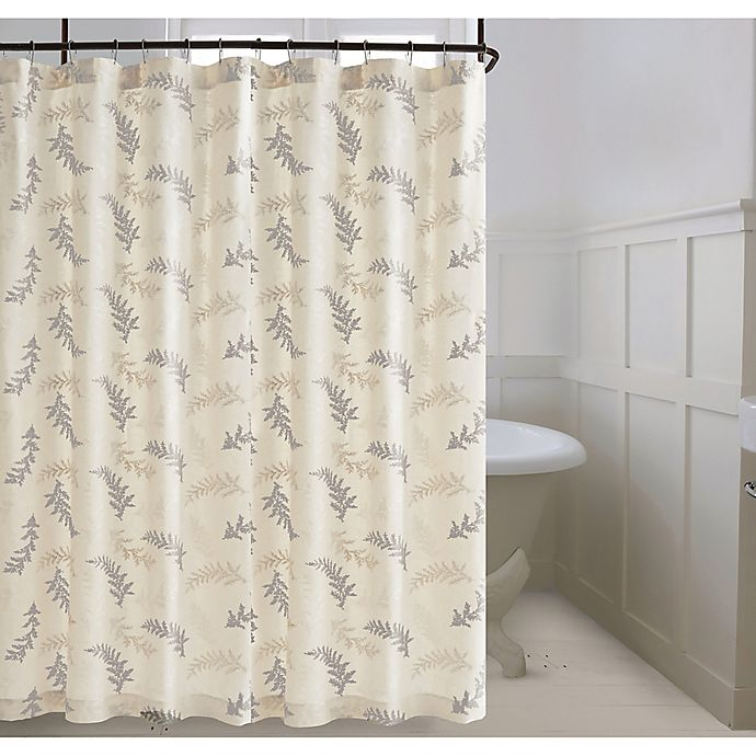 Alternate image 1 for Bee & Willow™ Home Bedford Shower Curtain in Natural