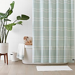 UGG® Devon 72-Inch x 72-Inch Shower Curtain in Blue Crush Stripe