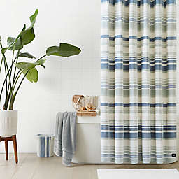 UGG® Avery Plush 72-Inch x 72-Inch Shower Curtain in Blue Crush