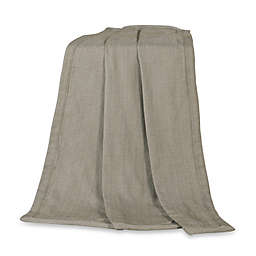 HiEnd Accents Fairfield Throw Blanket in Sand