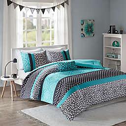 Mi Zone™ Chloe Reversible Comforter Set in Teal