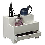 Personal Hair Styling Organizer in White