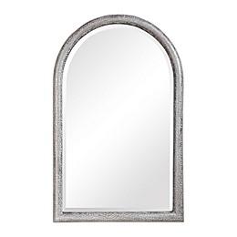 UTTERMOST Champlain 40-Inch x 26-Inch Arch Wall Mirror in Grey